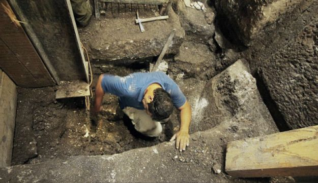 excavations, Jerusalem, western wall, king herod