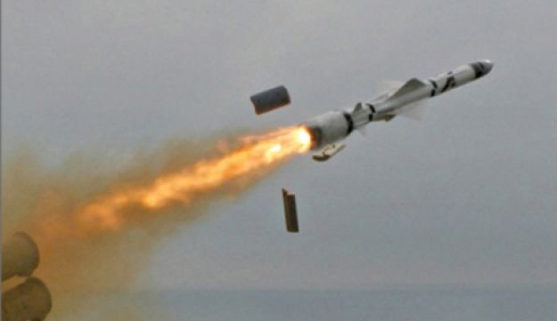 A Yakhont missile.
