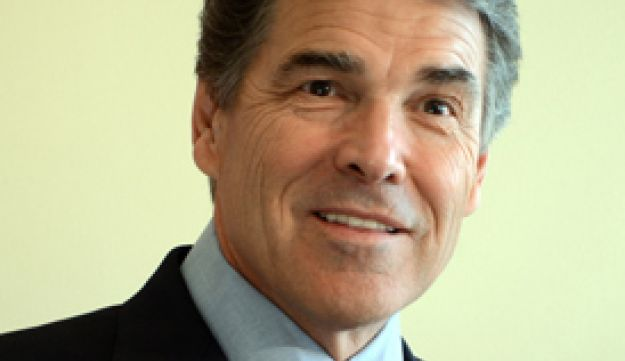 Republican candidate Rick Perry