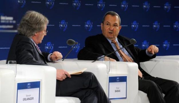 Ehud Barak at the World Policy Conference in Vienna - Ariel Hermoni.