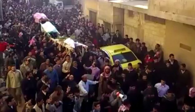 Funeral in Syria.