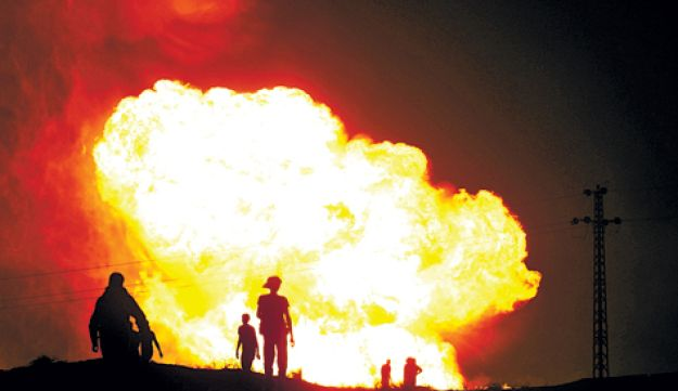 Egyptian gas pipeline attack - AP - mid-2011
