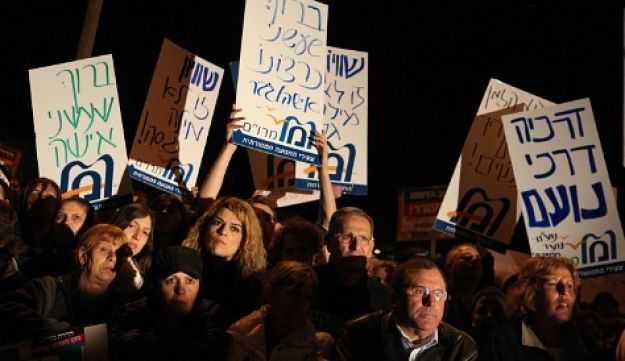 Beit Shemesh protest - 27.12.2011 - Michal Fattal