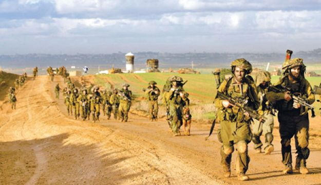 IDF soldiers - Getty Images - January 2012
