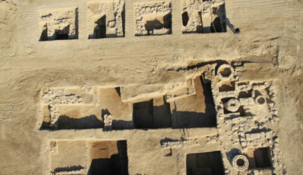 General view of the excavation - Sky View Company, courtesy of the Israel Antiquities Authorit