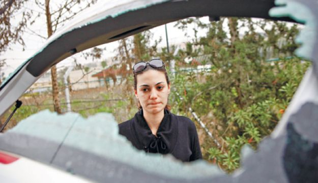 Beit Shemesh attack on woman's car