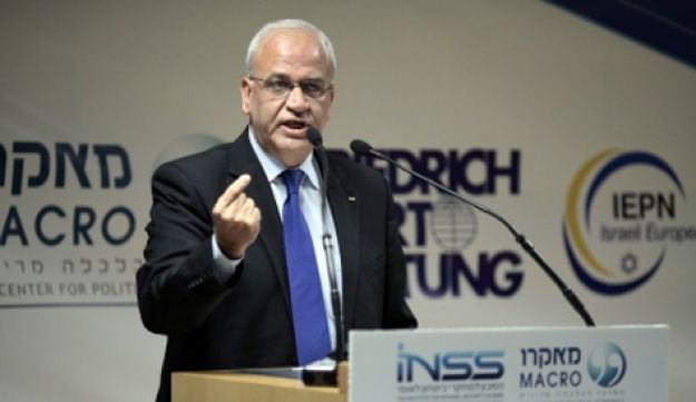 Saeb Erekat - Daniel Bar-On - January 2012