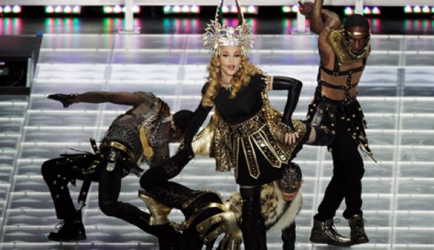 Madonna, who was once Pearl Lang's dance student.