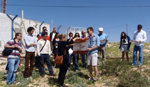 A Yachad tour in the South Hebron Hills.