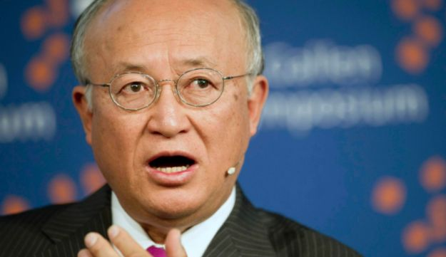 IAEA chief Yukiya Amano May 4, 2012 (AP)