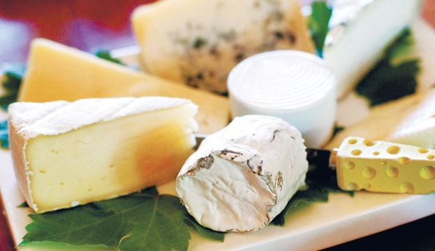 A wide variety of cheeses are sold in Israeli stores. Make sure to read the contents on the package