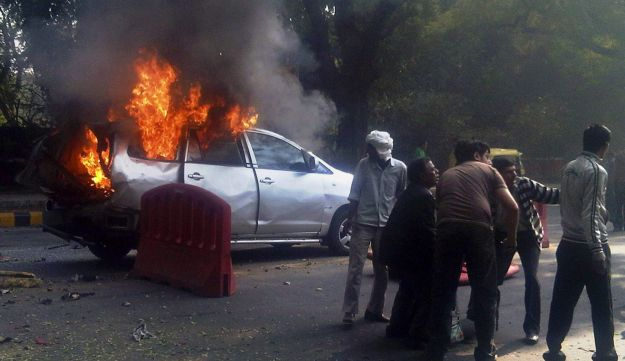 Car bomb New Delhi