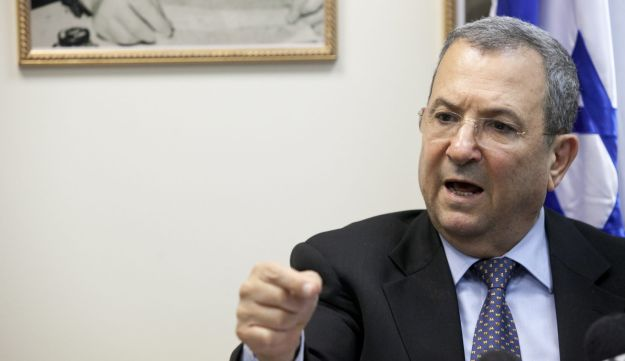 Defense Minister Ehud Barak - May 2012