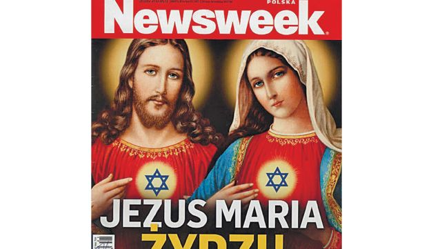 The cover of Poland's 'Newsweek'