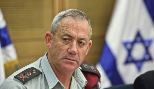 IDF Chief of Staff Benny Gantz - Michal Fattal