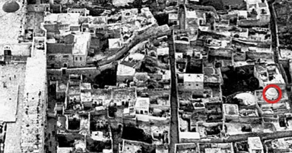Rare photograph reveals ancient jerusalem mosque destroyed for Film maghribi chambra 13