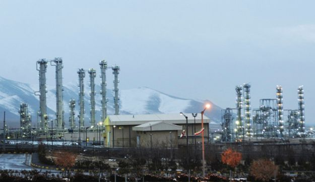 Iran's heavy water nuclear facilities near the central city of Arak