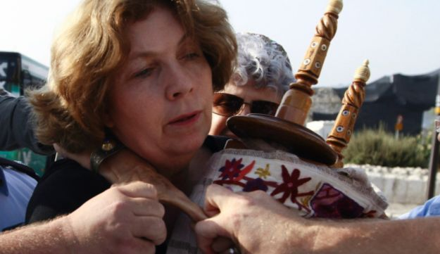 Anat Hoffman, chairwoman of the Women of the Wall organization