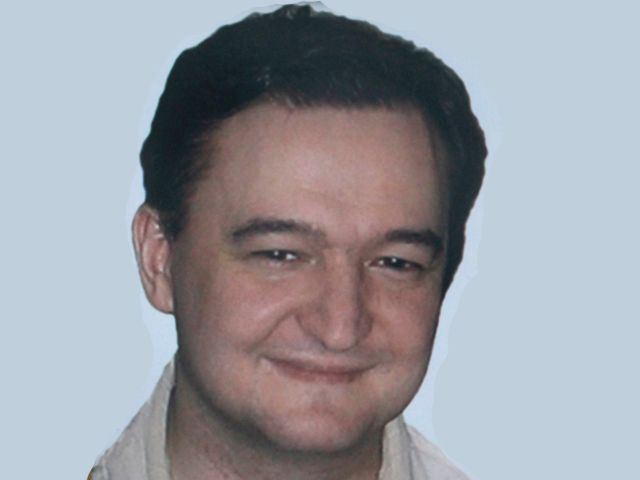 Lawyer Sergei Magnitsky who died in jail.