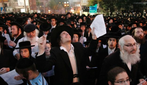 Ultra-Orthodox protest against the enlistment into the IDF