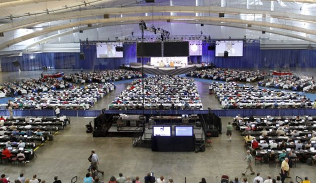 People attending the 220th General Assembly (2012) of the Presbyterian Church (U.S.A.)