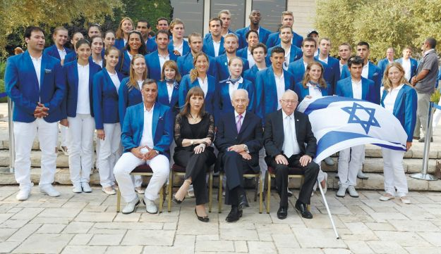 The Israeli delegations to the London Olympic and Paralympic Games