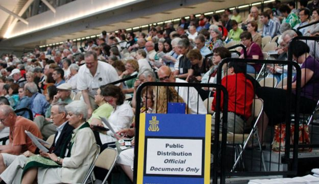 The 220th General Assembly of the Presbyterian Church (USA) on Thursday, July 5, 2012.