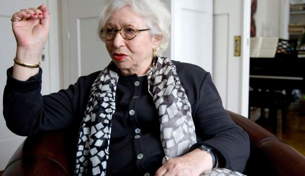 Berthe Meijer is seen during an interview at her home in Amsterdam, Netherlands on March 12, 2010.