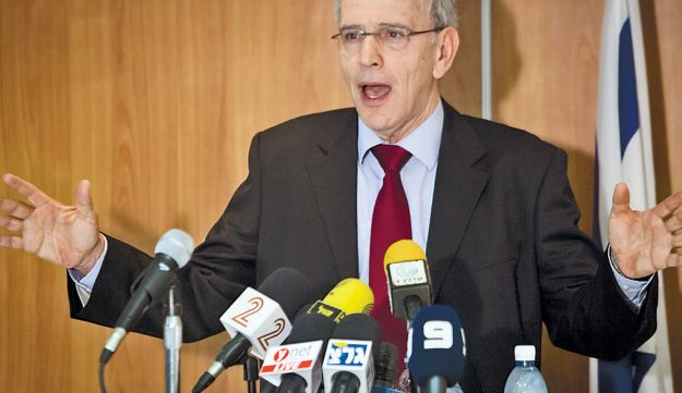 State Prosecutor Moshe Lador: Under pressure not to appeal.
