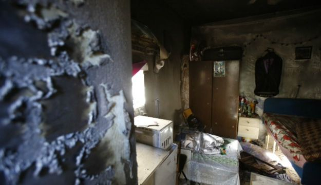 African migrants arson - Olivier Fitoussi - 12.7.2012