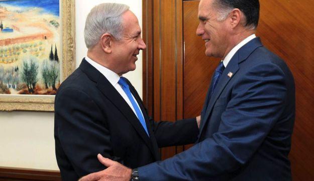 Netanyahu meets Mitt Romney in Jerusalem - Reuters - July 29, 2012