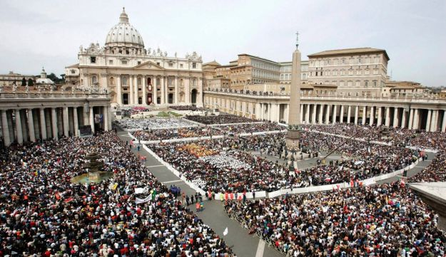 A general view of St. Peter's Square in the Vatican - Reuters