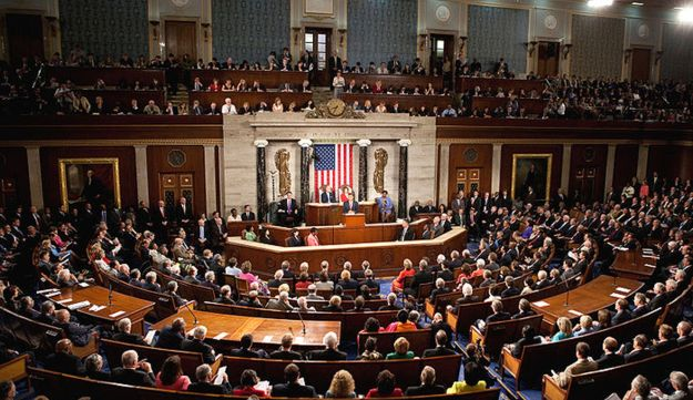 A joint session of Congress.