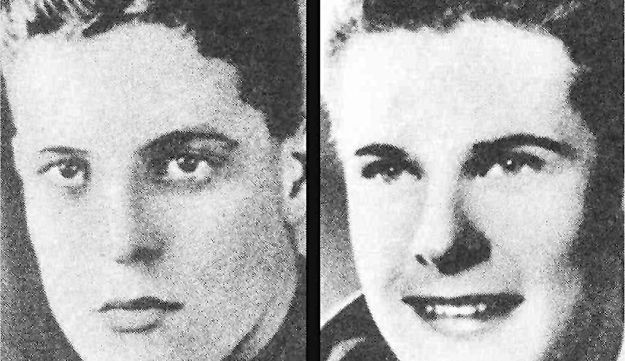 Clifford Martin, left, and Marvin Paice