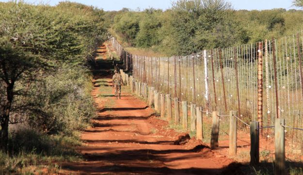 Private reserve in North West Province, near Brits, South Africa.