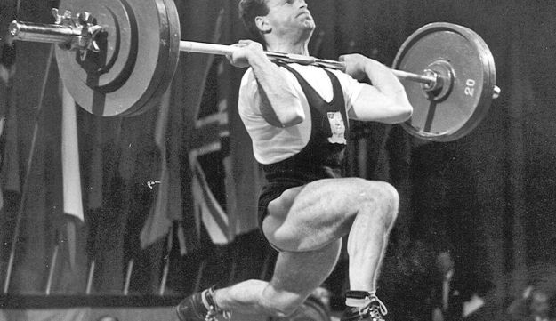 Ben Helfgott. Led the U.K. Olympic weight-lifting teams in 1956 in Melbourne.