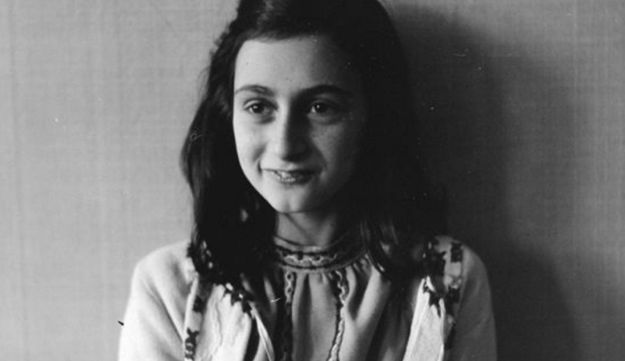 Anne Frank, who lived in the Netherlands during WWII, in 1941.