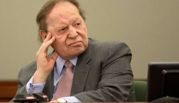 Las Vegas Sands Corp. CEO Sheldon Adelson testifies in Clark County district court in Las Vegas