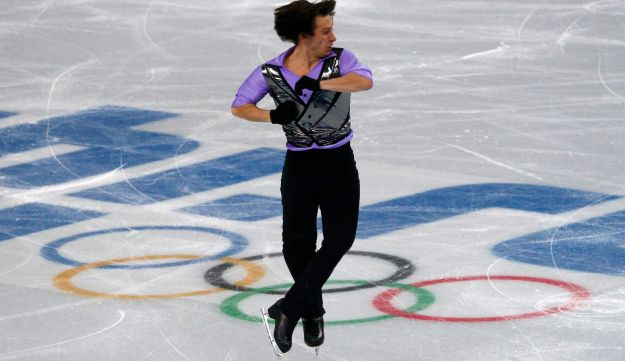 Israel's Alexei Bychenko competes in Sochi Olympics