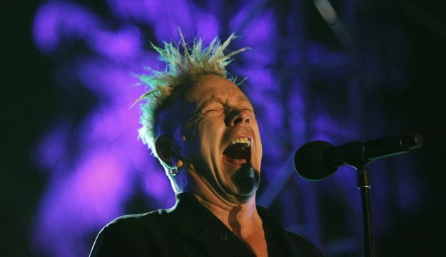 ohn Lydon of Public Image Ltd. performs at the Coachella Music Festival in Indio, California in this