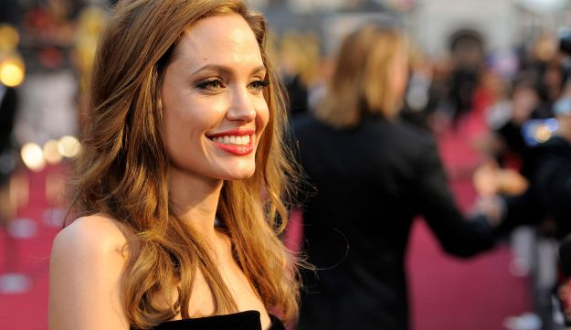 Angelina Jolie at the 84th Academy Awards in the Hollywood.