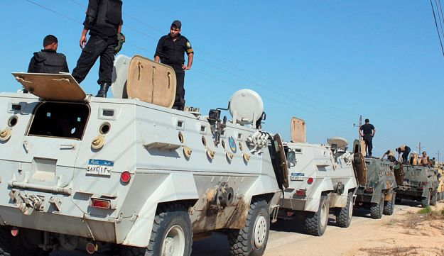 Egyptian security forces, Sinai peninsula – AFP - August 08, 2012.