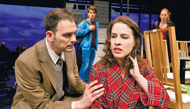 Habima's production of 'Next to Normal.'