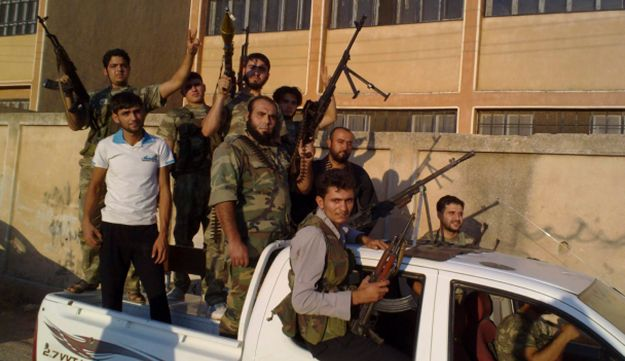 Members of the Free Syrian Army