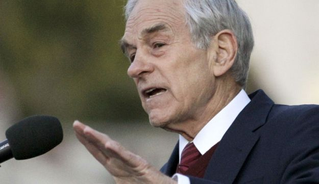 Rep. Ron Paul, R-Texas speaks at University of California, April 5, 2012.