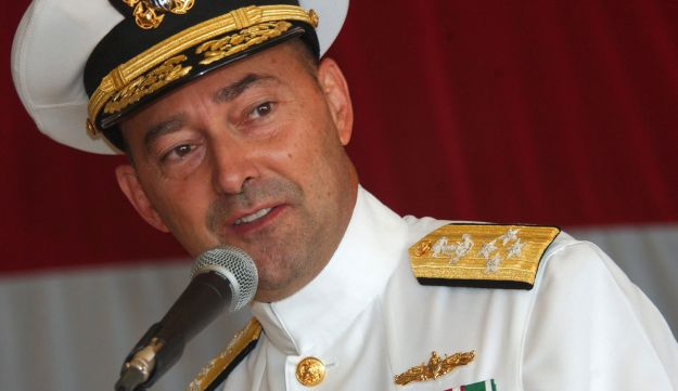 Admiral James Stavridis in July 12, 2008.