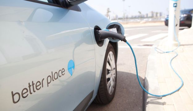 Better Place car charging