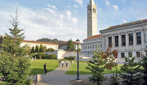 The campus at UC Berkeley.