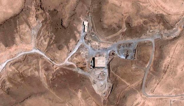 These satellite images, taken August 5, 2007 (Top) and October 24, 2007 (Bottom), show a suspected nuclear facility in Syria.