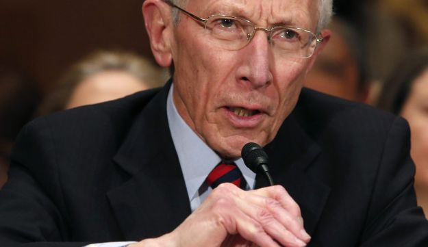 Fischer testifies before the Senate Banking Committee confirmation hearing on his nomination.